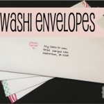 DIY Washi Tape Envelopes