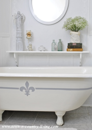 Painting A Claw Foot Tub Live Creatively Inspired