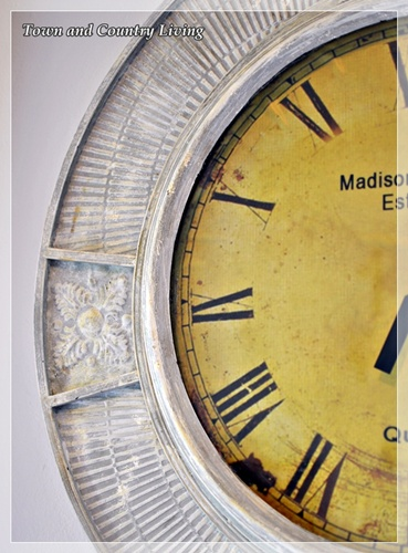 My Large Wall Clock Gets A Makeover Live Creatively Inspired