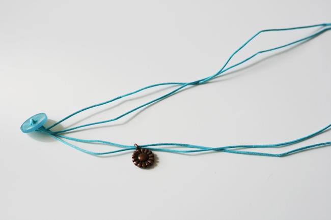Easy Corded Charm Bracelet4