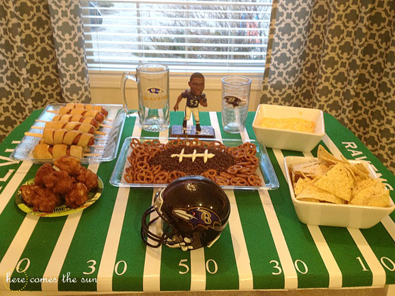 Football Party Tablescape 2