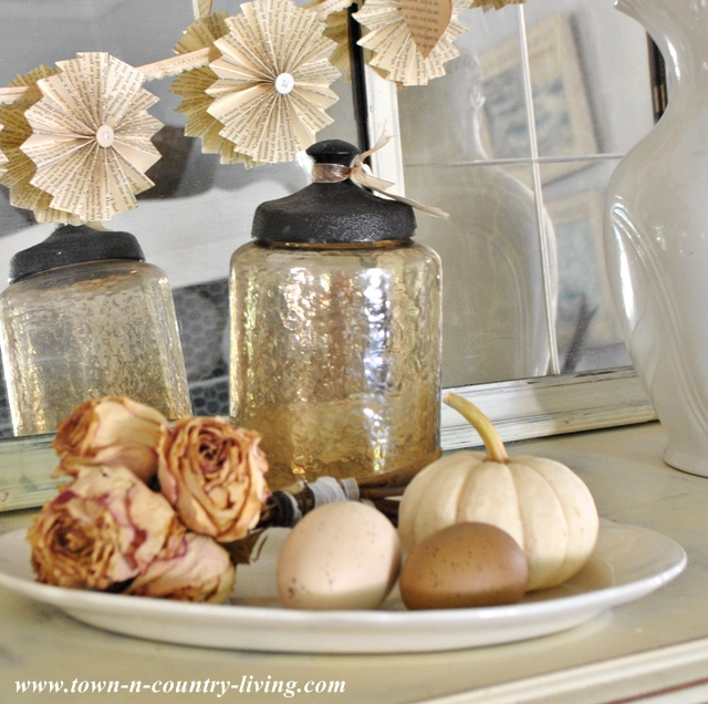 Fall Decorating Ideas via Town and Country Living