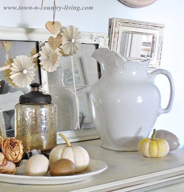 Fall Decorating Ideas on a Budget via Town and Country Living