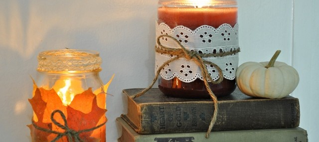 Cozy Fall Decorating with Candles