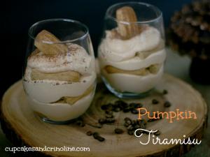 Pumpkin Tiramisu cupcakesandcrinoline