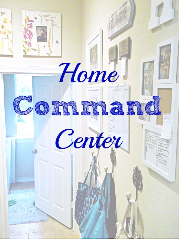 How to Organize your Home Command Center: Live Creatively Inspired