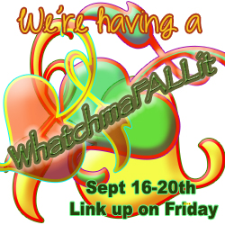Fall decorating during WhatchamaFALLit at Live Creatively Inspired