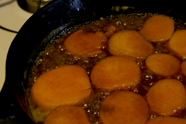 Candied sweet potatoes1