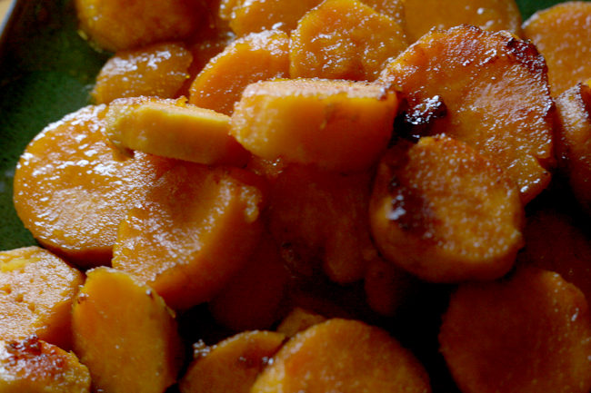 Candied sweet potatoes2