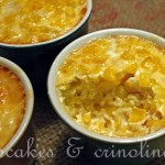 Baked Corn Cups ~ A Great Addition to a Buffet Dinner
