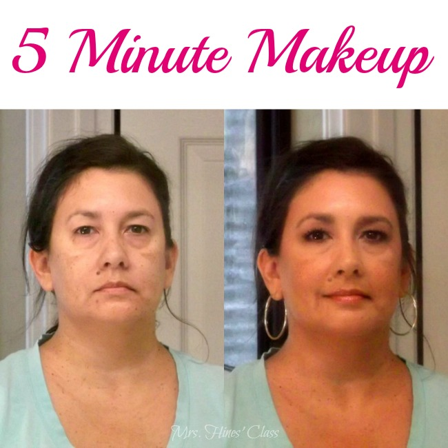 5 Minute Makeup Routine: Live Creatively Inspired