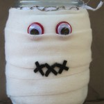 It's a 'Wrap' to make a Mummy Candle!