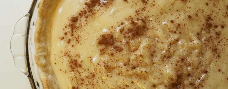 Holiday Baking ~ Amish Sugar Cream Pie