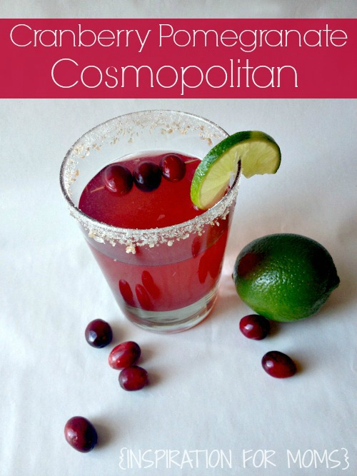 Cranberry Pomegranate Cosmo Recipe