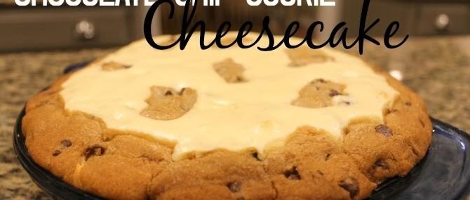 Chocolate Chip Cookies Cheesecake