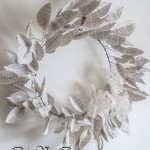 How to make an inexpensive book leaf wreath