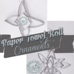 Paper Towel Roll Ornaments