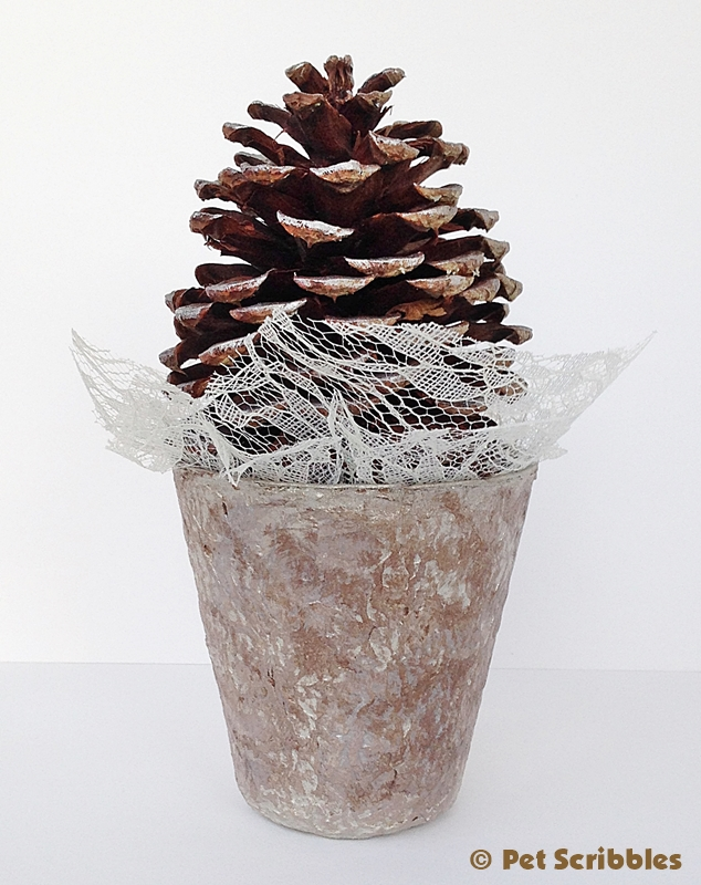 Pinecone Tree Craft (5)