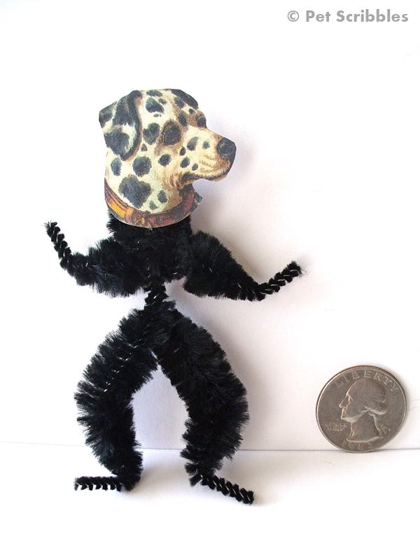 Pipe Cleaner Doll Actual Size