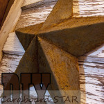 How to Rust Technique for a DIY 3-D Star