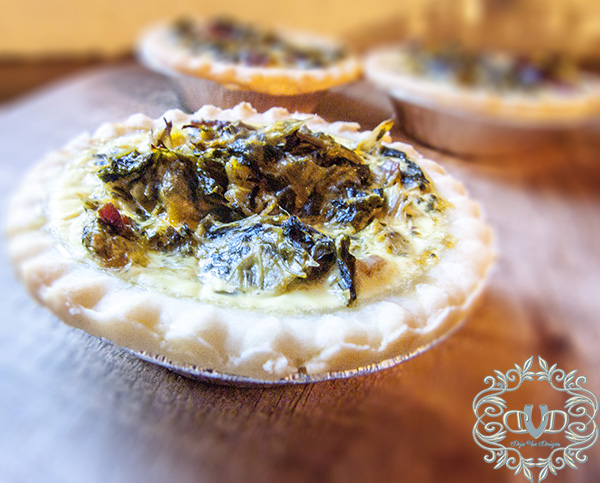 Mini Spinach Tarts