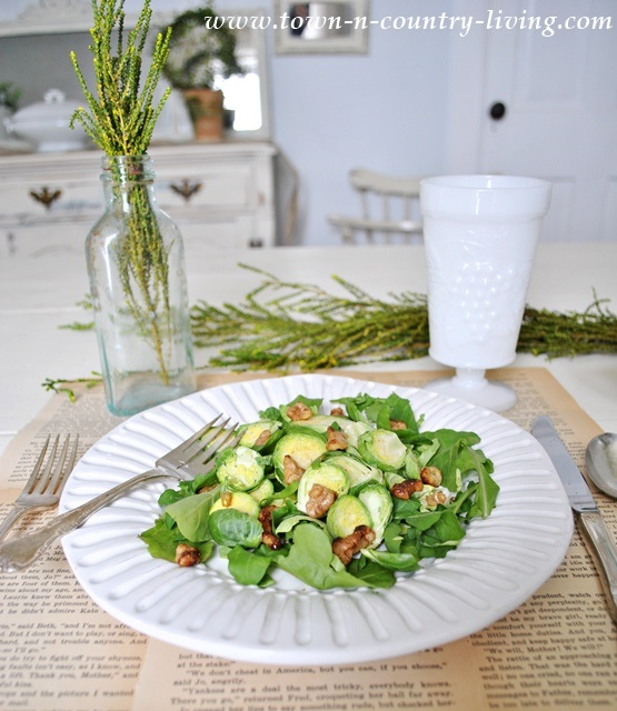 Super Food Salad via Town and Country Living