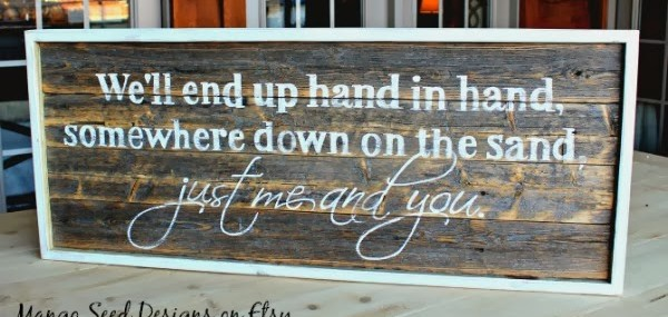 Wedding Pallet Signs