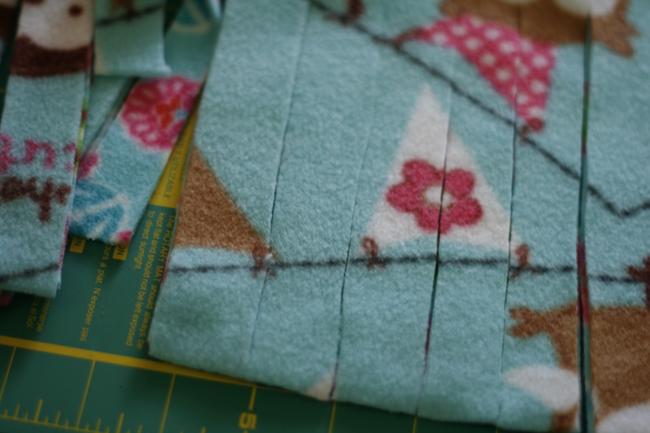 No Sew Fleece Blanket6
