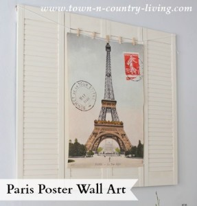 Paris Poster Wall Art