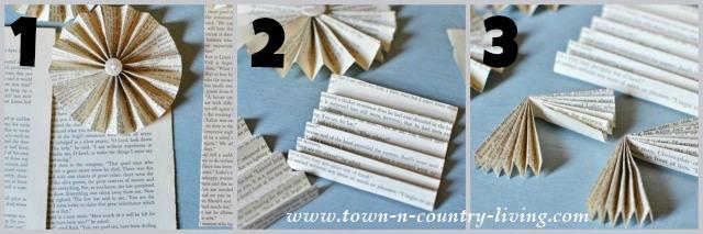 Paper Fan Steps 1-3