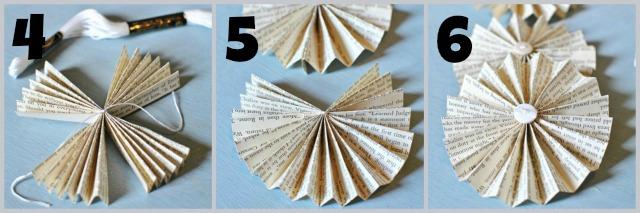 Paper Fan Steps 4-6