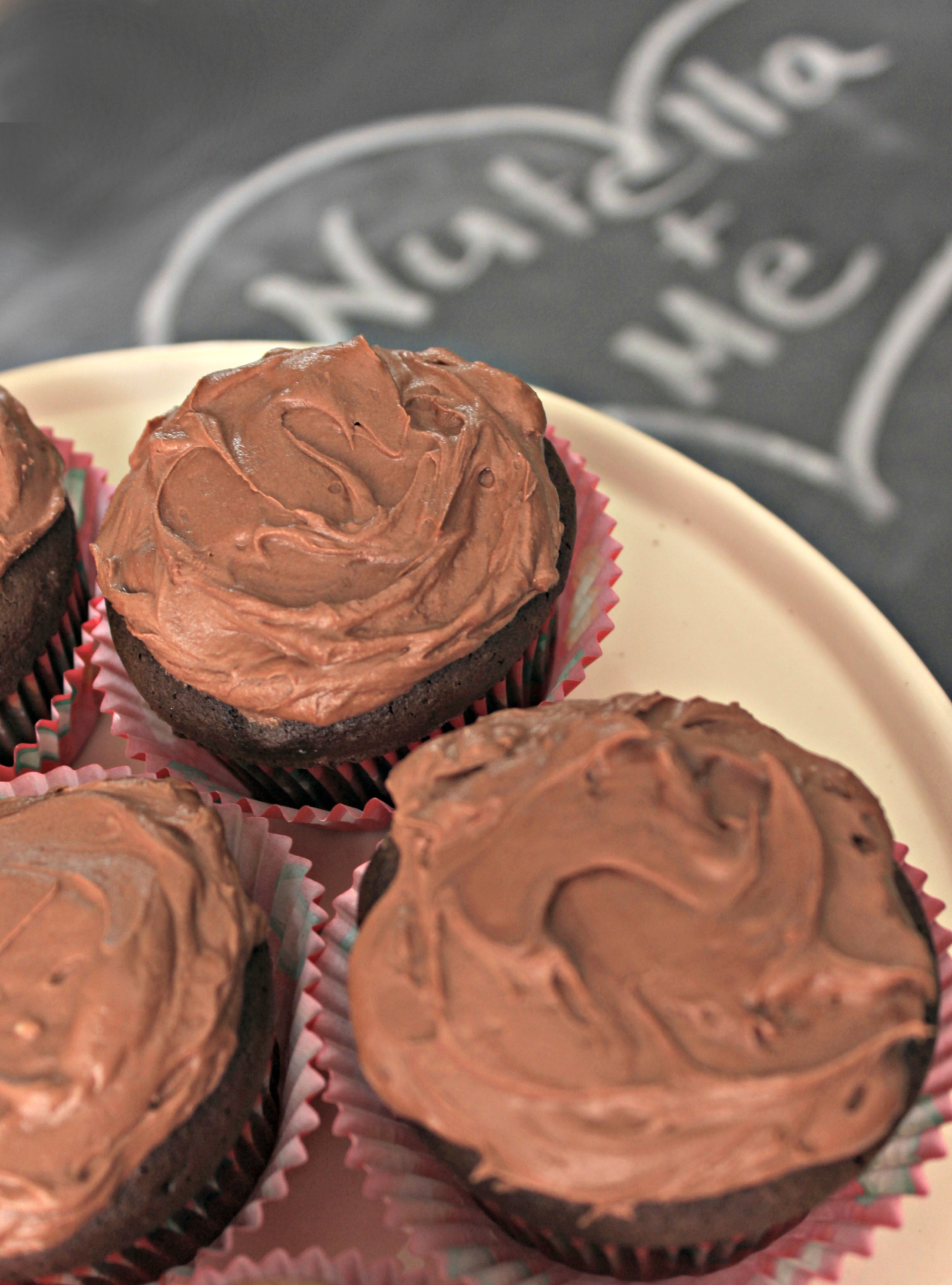 Nutella Buttercream Frosting Recipe - Live Creatively Inspired