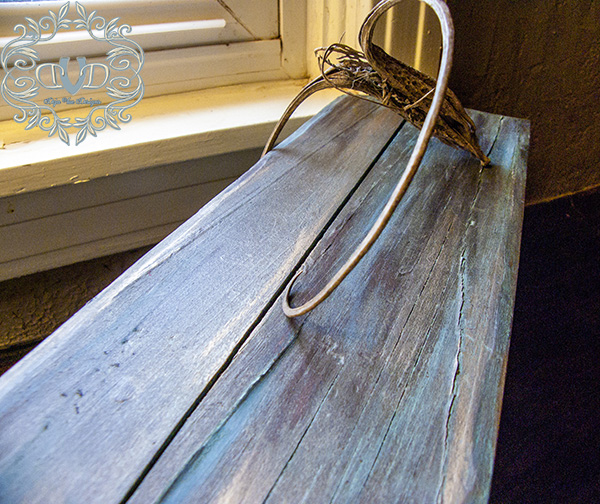 Copper-Patina-Bench