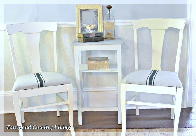 Painted church sale chairs