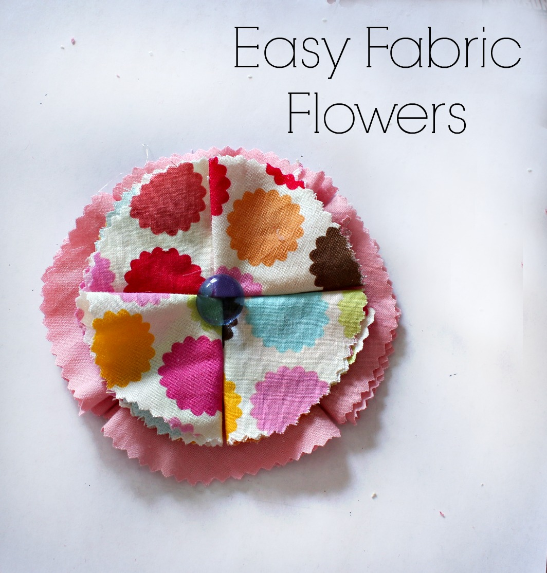 Diy Fabric Flower Wall Art : Diy wall art and fabric flower tutorial live creatively