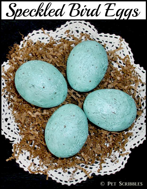 Speckled Bird Eggs DIY