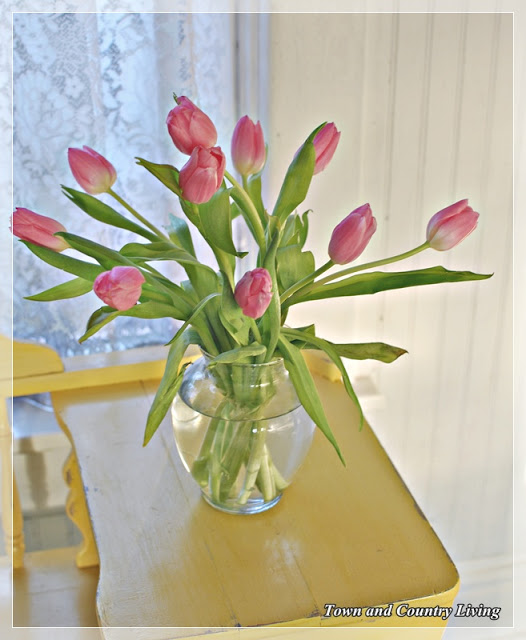 Tulips-in-a-glass-vase