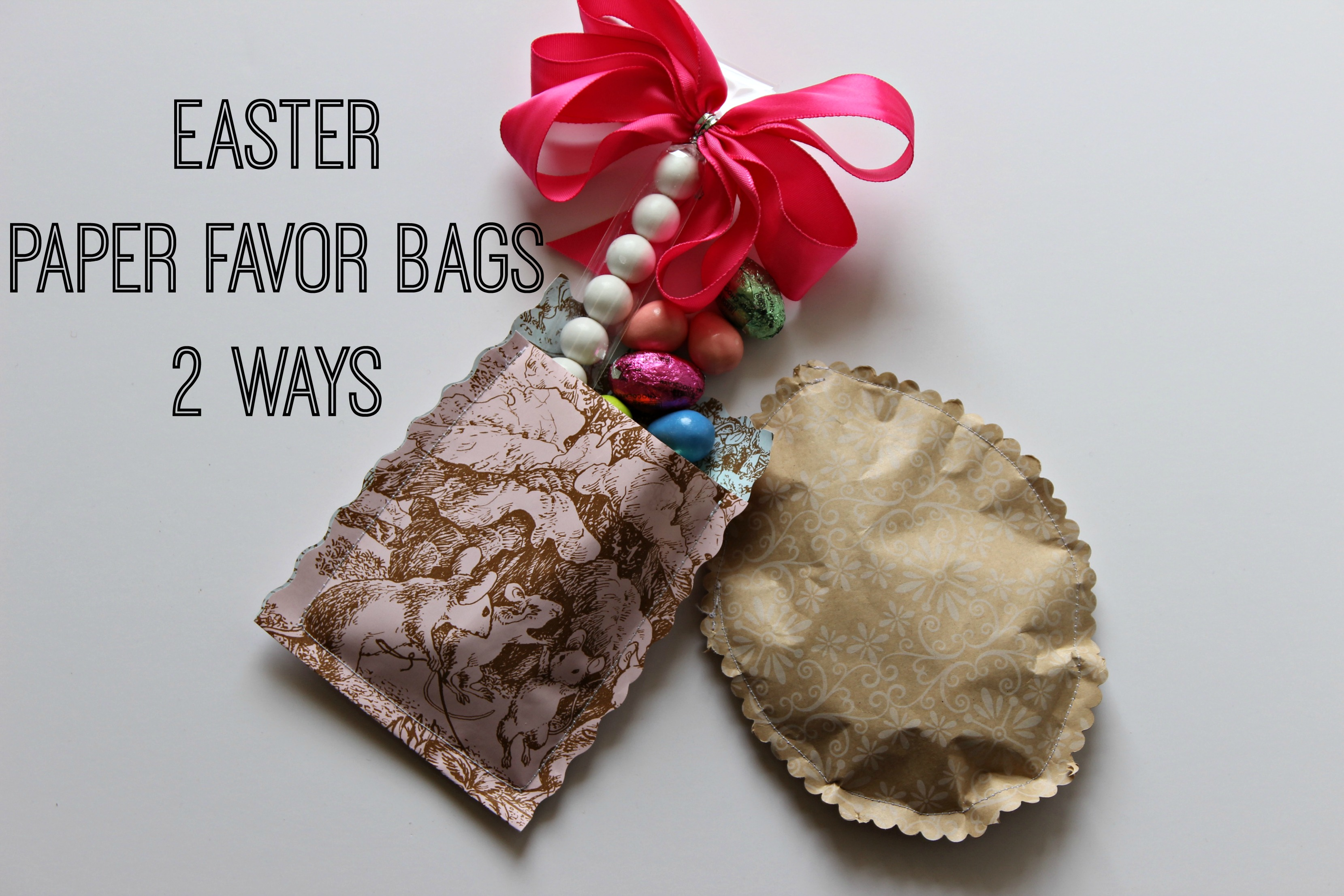 Diy easter candy favor bags days of chalk and chocolate with easter on its way i have been trying to think of a cute way to package some candy as a little treat for guests and my girls nothing overboard just a negle Gallery