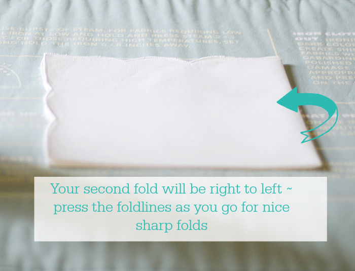 how-to-fold-a-dinner-napkin-step-two