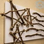 Rustic Stars and Sticks Art