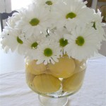 Easy Lemon and Daisy Centerpiece