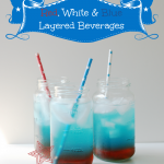 Easy-to-Make Red, White and Blue Beverages