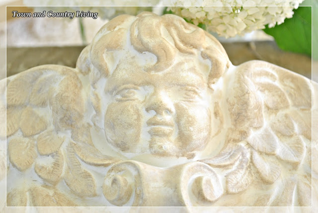 How to age a plaster carving