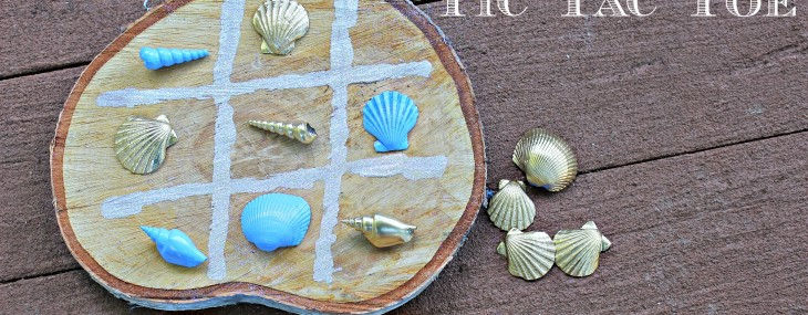 Seashells Tic Tac Toe