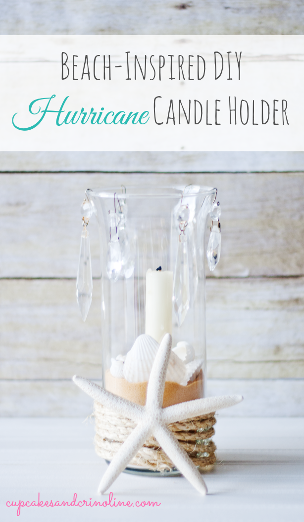 Beach-inspired-hurricane-candle-holder