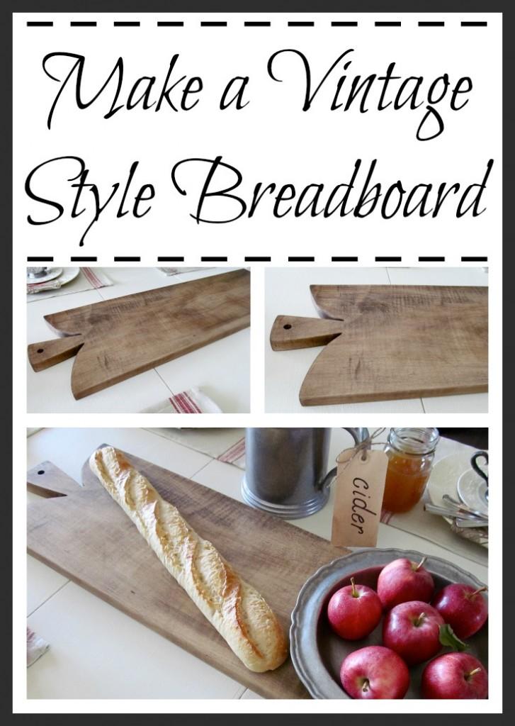 Make a Vintage Style Breadboard