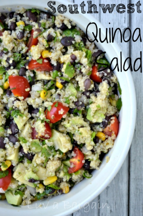 Southwest Quinoa Salad by Luv a Bargain