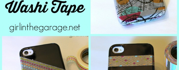Update Your Phone Case with Washi Tape