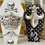 French Gothic Coffin Boxes