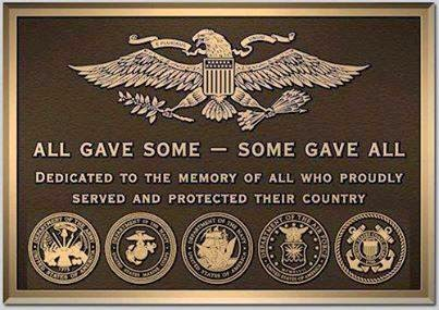 Plaque for Veterans from Crestwood
